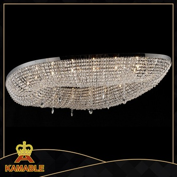 CE certificate modern crystal decorative hanging suspension light