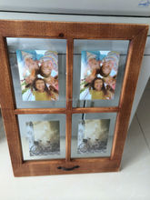 window shaped photo frame with handle