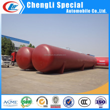 Large gas storage tank 100ton ASME SA516 100mt spherical lpg tank