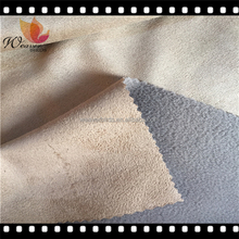 Best Selling micro suede fabric bond polar fleece for jacket coats hats shoes fabrics