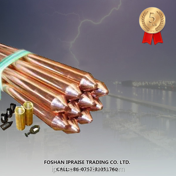 Electric fence grounding rod/poles for Electrical power fence ground wire connection