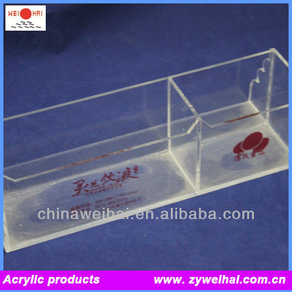 Clear Acrylic Name Plate Holder