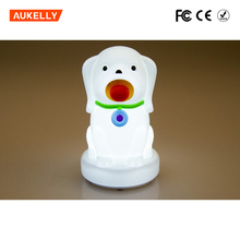 For baby dry batteries operated vibration sensor dog night light