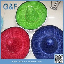 High Quality Big Sombrero Straw Hat In China