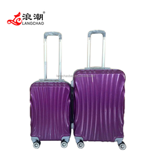 "abs luggage sets 20""24""28"" trolley abs hard case luggage set, travel suitcase factory"