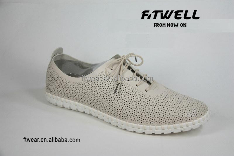 latest design men leather causal shoes