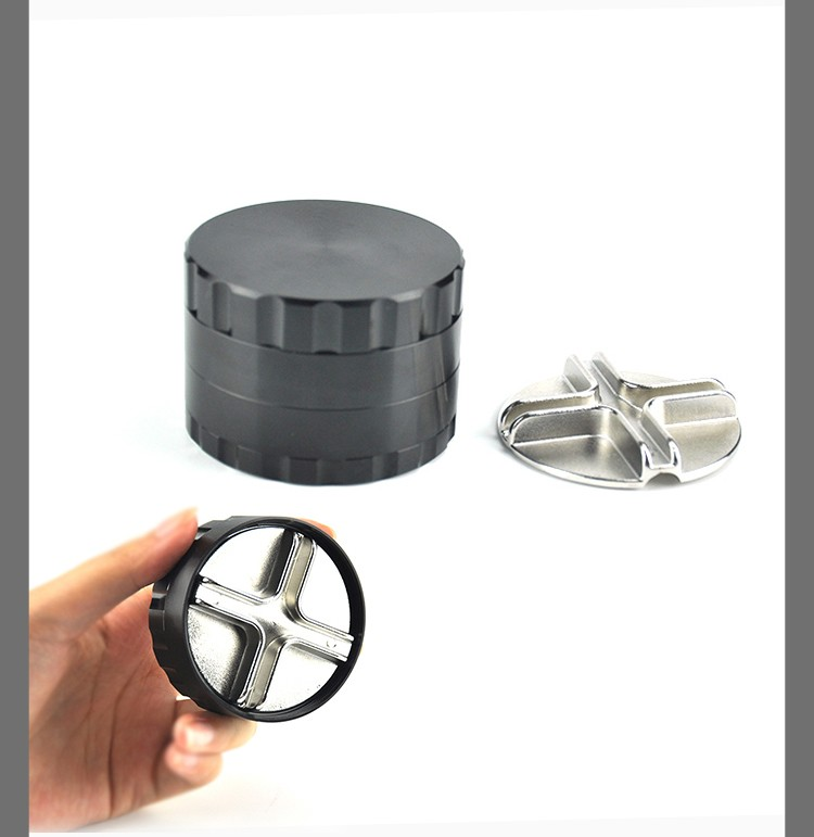 JL-295JA Aluminum Herb Grinder 4 Parts Dry Leaf Grinder Machine Leaves Grinder