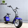 Fat Citycoco scooter 2 Wheels Electric Motorcycle CE approved/1000w rear suspension e-scooter with 2 seats