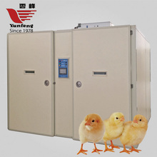 Beijing YFDF-19200 hot selling good reputation large industrial incubators for hatching eggs