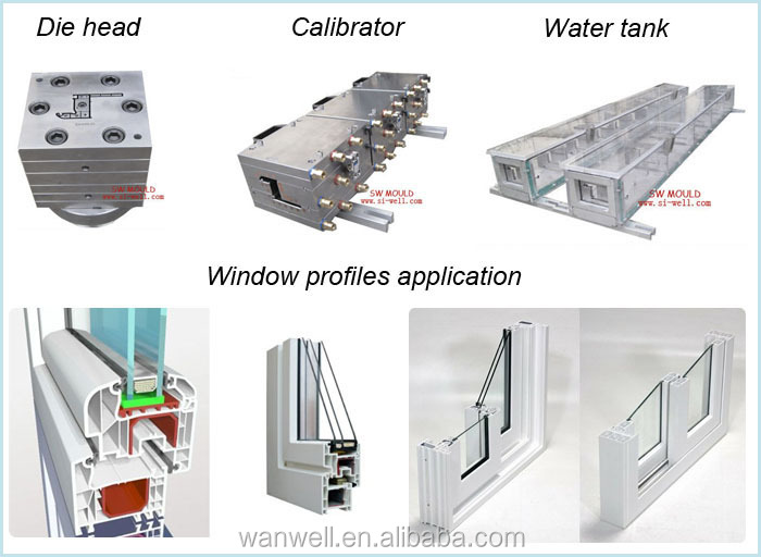 PVC window profile mould making