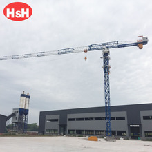 QTP 7030 tower crane rental used in confined spaces