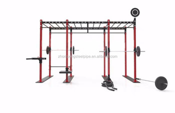 RED CrossFit Multifunctional Integrated Training rig