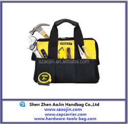 China supplier husky tool bag yellow and black