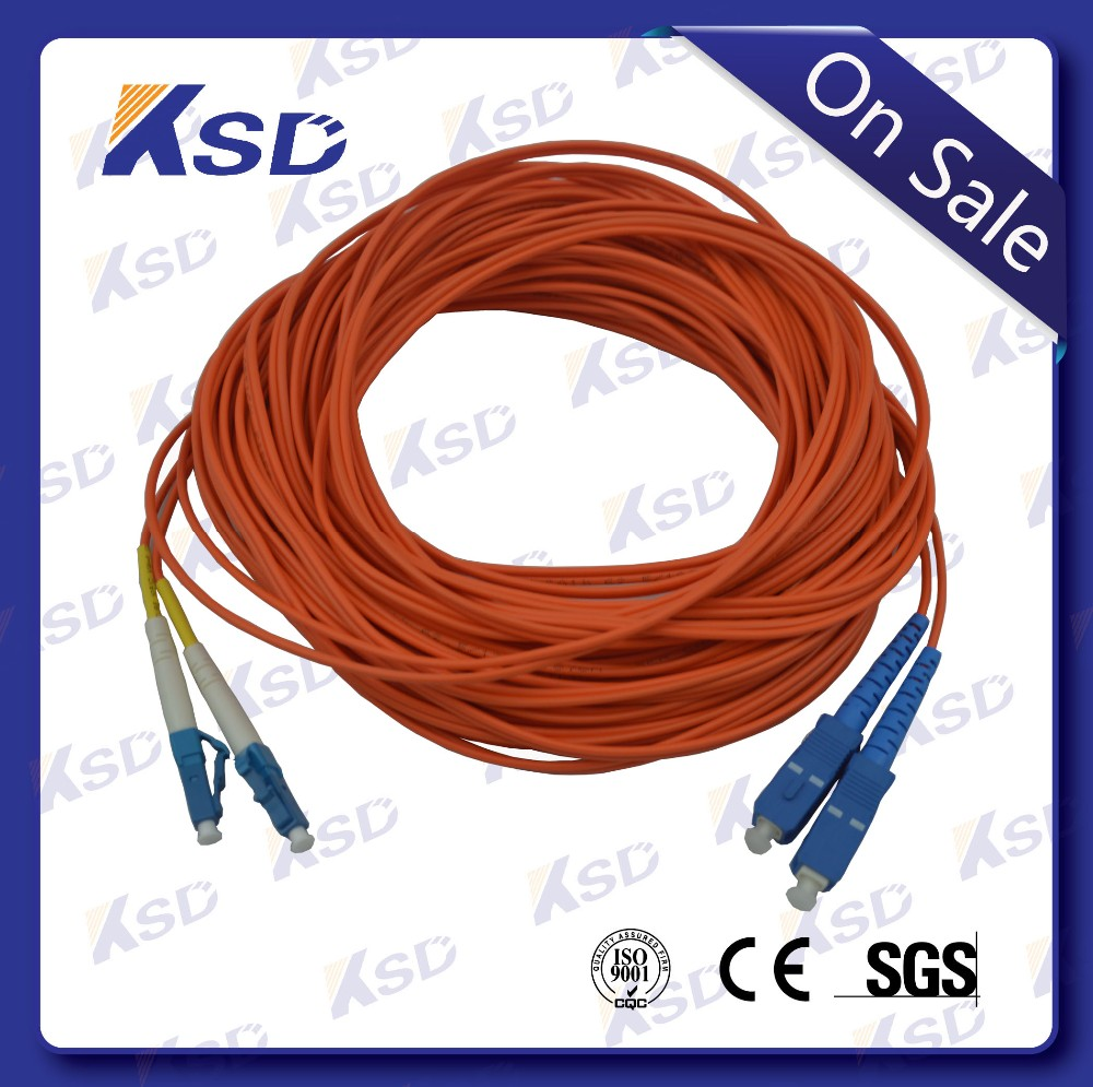 Multimode 50/125 Fiber Optic Cable and LC SC Connectors