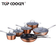 Forged aluminum nonstick cookware