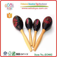 Wooden Percussion Maracas Toys