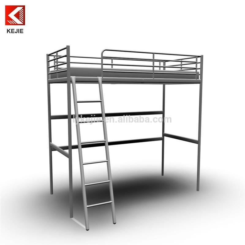 Hostel beds student reading table bunk bed design