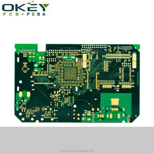 Electronic UL 94v0 gold metal detector pcb circuit board design with rohs blank cnc pcb manufacturer shenzhen