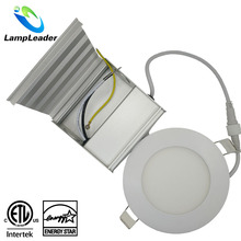 ETL Energy Star 5Years Quality Guarantee 4inch 9W 6inch 15W Round ultra slim led panel light