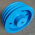 V Belt Cast Iron Pulley For Tractor Parts