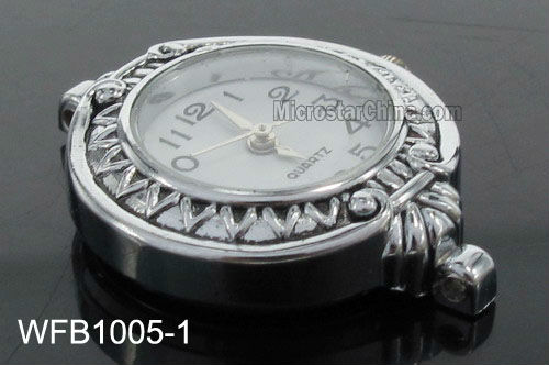 Wholesale digital blank face watches for beading jewelry
