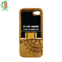 Detchable phone case for iPhone 5,cherry wood case for iPhone 5s,case for iPhone 5s.