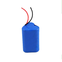 11.1v 2200mah li-ion battery pack for LED/lighting system/flash lights
