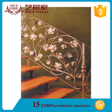 high quality wrought iron spiral staircase,wrought iron stair railing panels,outdoor metal stair railing
