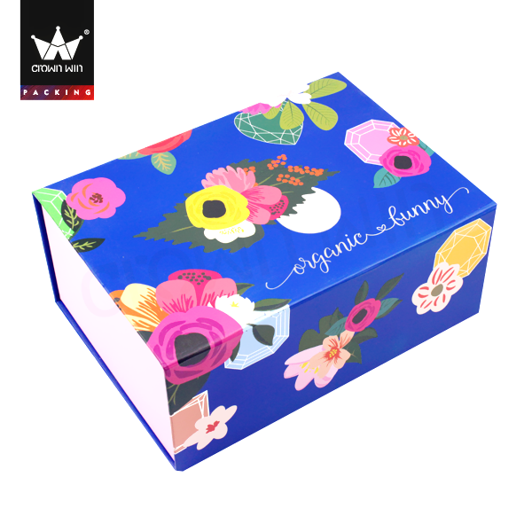 Fashion Luxury Gift Paper Box For Garments Folding Clothing Boxes Crownwin Packaging
