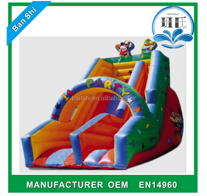 China factory Commercial Grade Giant Inflatable Water Slide for sale