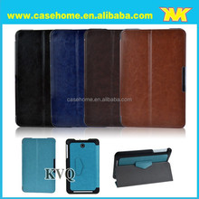PU stand leather case for ASUS Memo Pad 8 ME180A