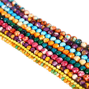Professional Colorful Loose Gem Stone Bead For Jewelry Making