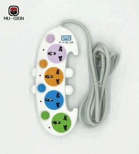 UK Style power board power strip with Surge protector outlets and extension socket
