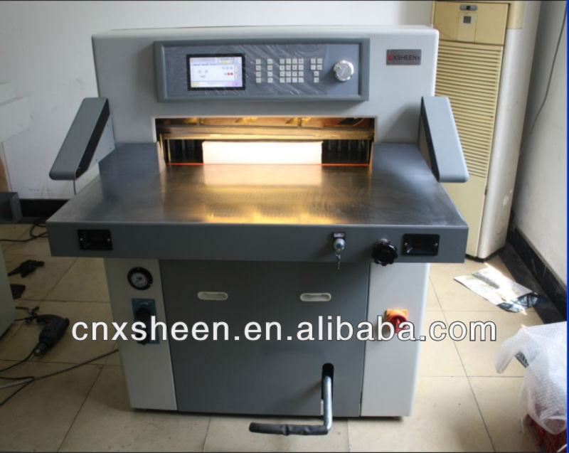 XH-HC680 hydraulic program paper guillotine machine ,paper cutter machine ,paper cutting machine