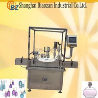 automatic perfume bottle filling capping machine