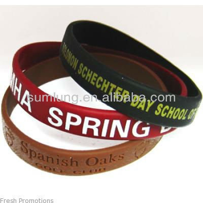 Single Colour Wrist Bands