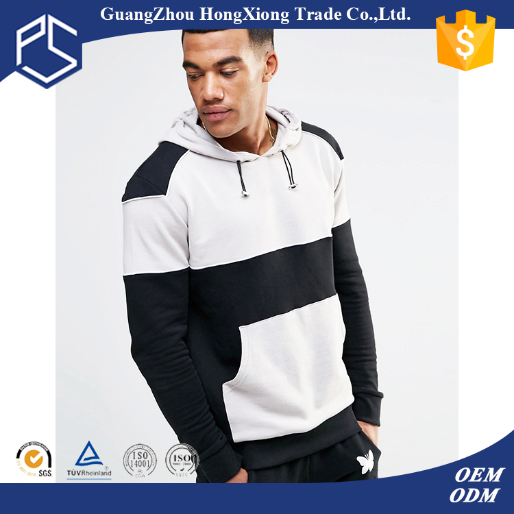Wholesale best selling for man plain oem service 100cotton pullover zip up own logo high quality two tone hoodies