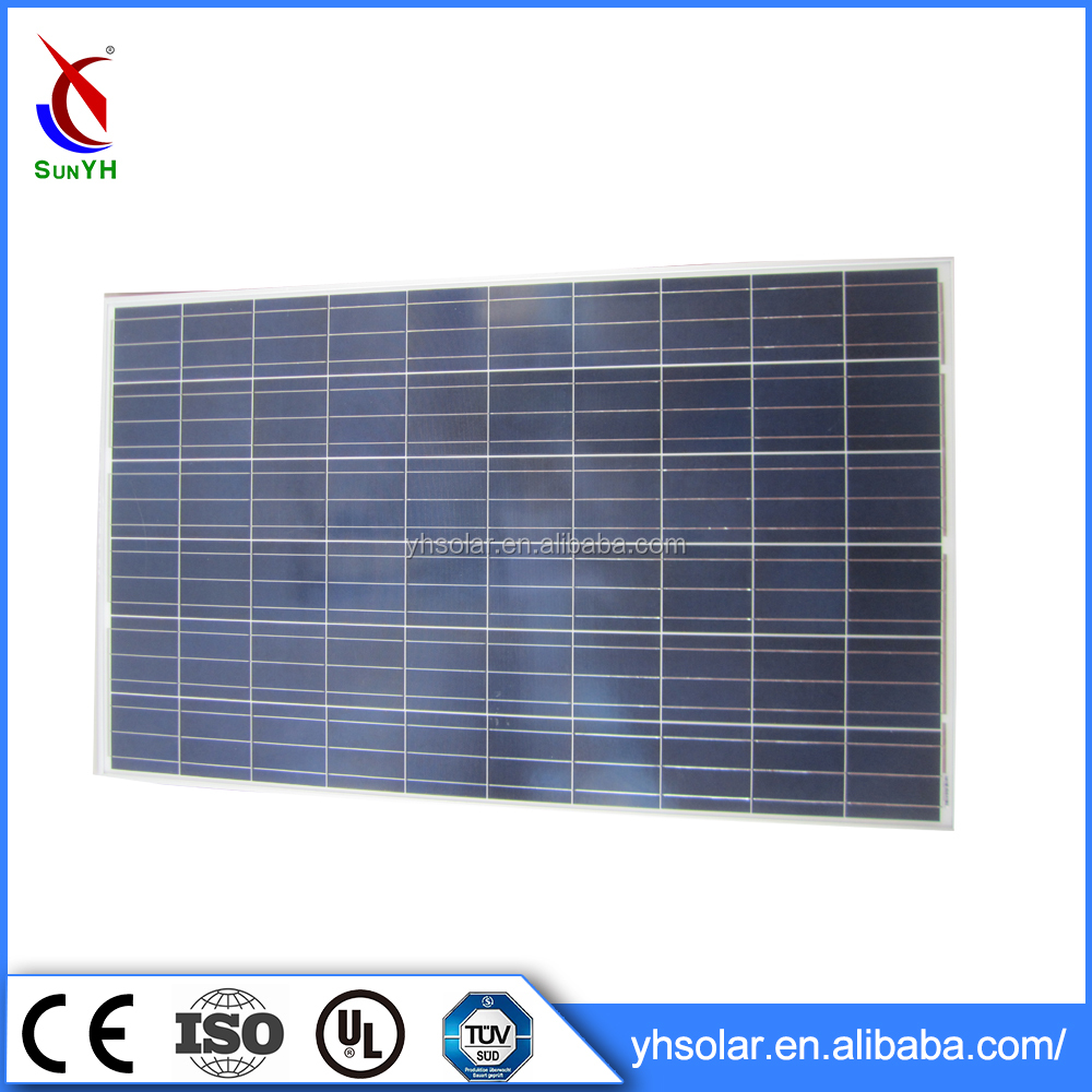 6 Inches Cell Type Solar Panel , Best Price Per Watt Solar Panels 250w