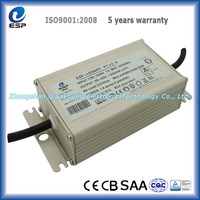Top High Quality constant current 1200mA 43-60V waterproof 56 watt power supply led driver for street light