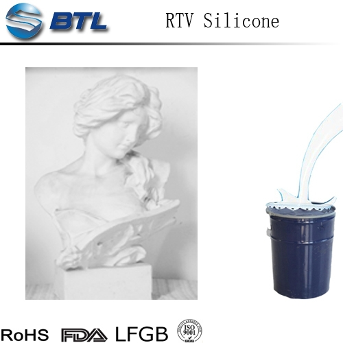 Good price RTV-2 silicone rubber for concrete casting rubber mold