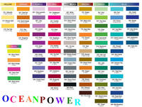 Durable & neat looking color chart / fandeck card / colour shade codes with 1026 choices & factory price