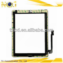 For iPad 3 Digitizer Assembly with frame and home button