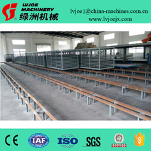 Mgo board construction material machinery / Automatic Mgo Magnesium Oxide Fireproof Drywall Board Making Machine Production Line