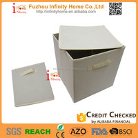 Organizer logic collapsible storage box clothes for home