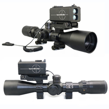 LaserWorks hunting accessories air Gun mounted 700m laser rangefinder optic rifle scope/speed/Y/M