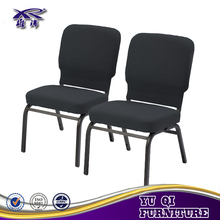 Durable metal church chair restaurant furniture for sale