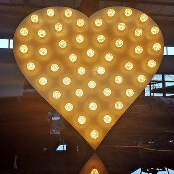 Outdoor Giant Light Up Led Love Logo Letters Marquee Letters Large Love Sign