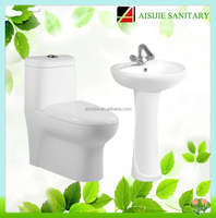 A3121/D601 Alibaba China Wholesale Container House Luxury Bathroom Design Toilet With Sink Bathroom Accessories