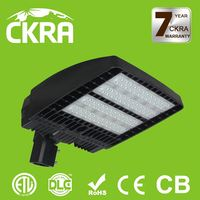ETL DLC certificate top quality energy saving 150w led parking lot light