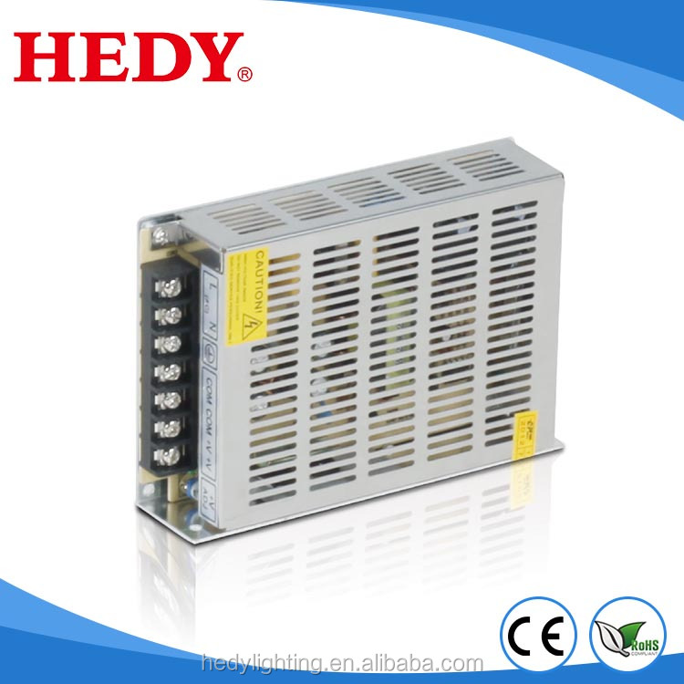 230V AC 12VDC 120W 10A Adjustable SMPS Single Output LED Power Supply